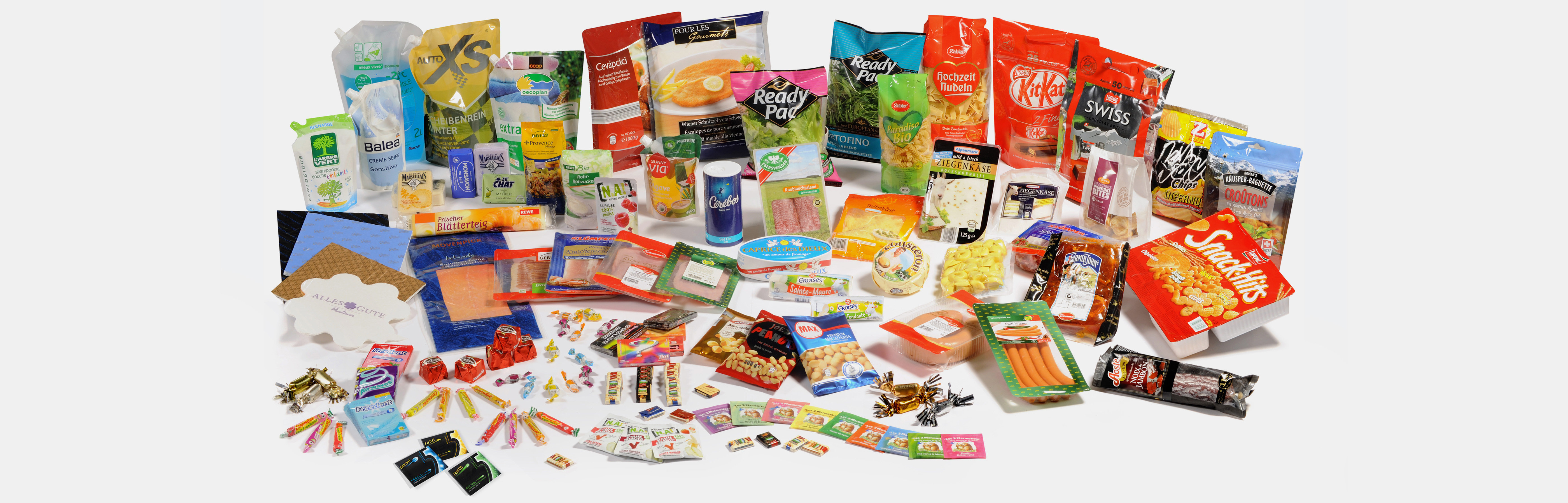 The packaging portfolio from Cellpack Packaging