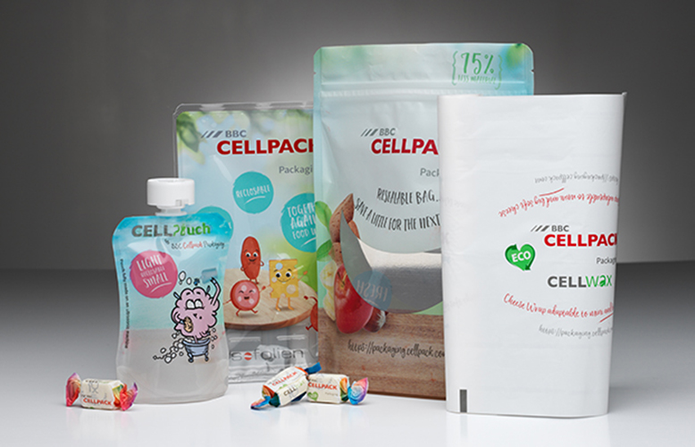 Our flexible packaging range